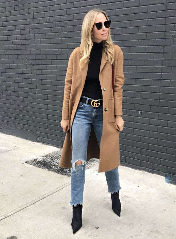 Sydne Style shows how to wear a black gucci belt with outfit ideas from fashion blogger brooklyn blonde #gucci #belts #bloggerstyle #outfits #outfitideas